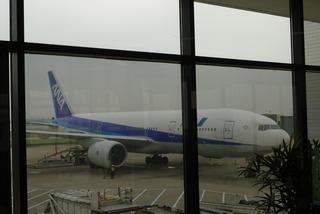 上海・虹橋空港発羽田行きの全日空ANANH1260便