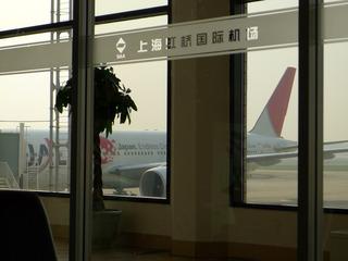 上海発羽田行きのJL082便