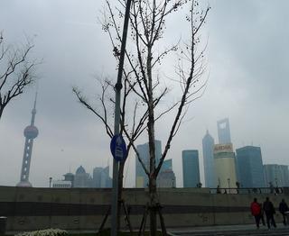 上海の外灘の風景