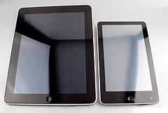 アップルiPADのパクリ製品(山寨版)?IROBOT/APAD/