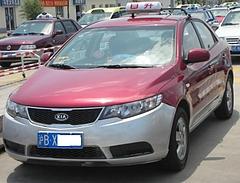 タクシーの料金メーターにやられた/上海のタクシー事情