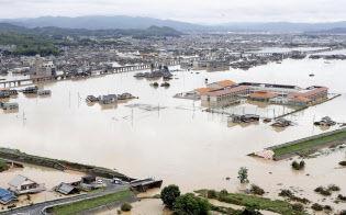 【記録的豪雨】豪雨 85人死亡 6人重体 58人不明 (8日23時)