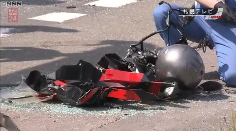 """【悲惨】""""逃走容疑者に似ている""""とパトカーに追跡されてた高校生が事故 死亡"""