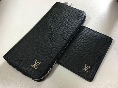 【画像】ヴィトンの長財布とカードケース、スニーカー買って来たwwwww