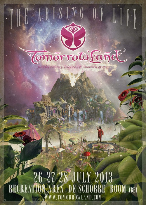 Tomorrowland 2013 The Arising of Life