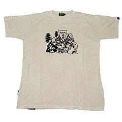 麻福神 ヘンプコットンTシャツ
