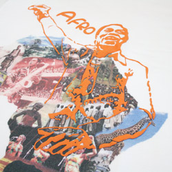 フェラ クティ(FELA KUTI)AFRO Tシャツアップ画像