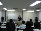 12月3日セミナー風景・内海先生
