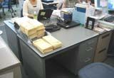 新オフィス机