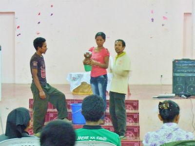 2012年6月保健ボランティアへの研修
