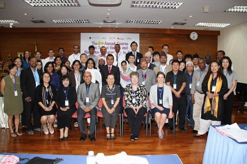 約20ヵ国からの講師・参加者