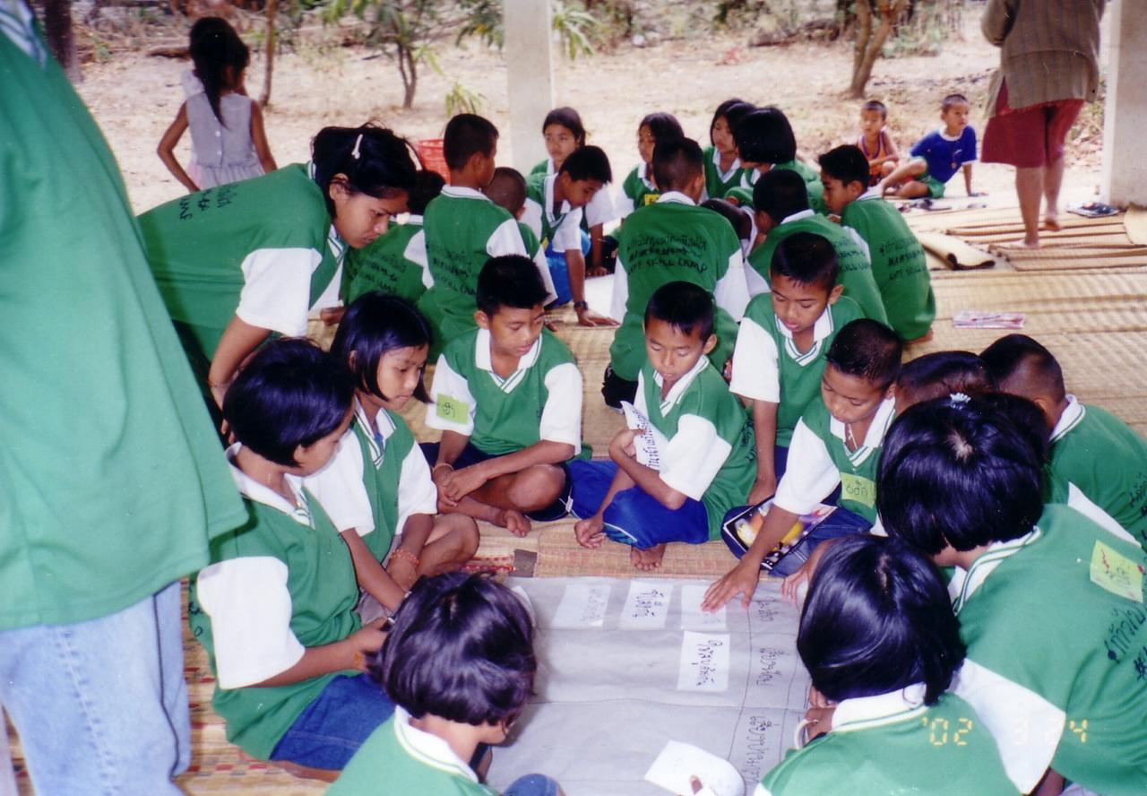 シェアタイ活動 小学生のサマーキャンプ