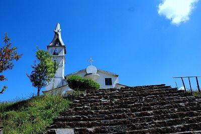 山頂の教会