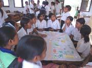 東ティモール 小学校での保健教育—参加型栄養ゲーム