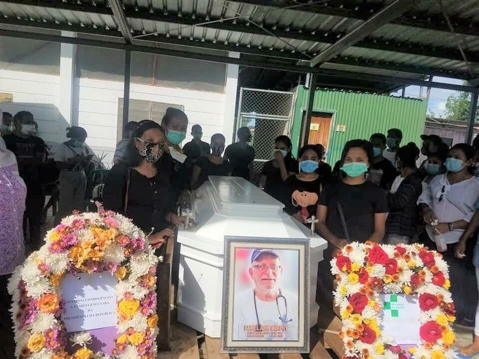 #7 Dr. Dan's funeral in Biro Pite Clinic