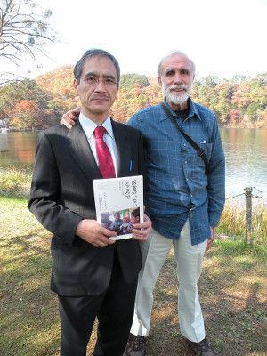 写真1.デビッドと徹 佐久にて2009年