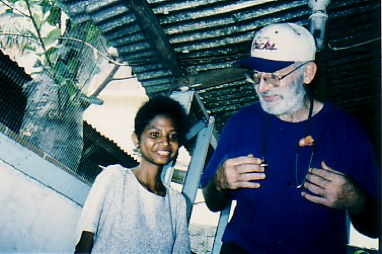 #3 Dr_ Dan and a girl cured from miliary TB 1999