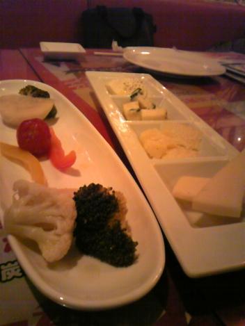 OTTO チーズ盛り合わせ ピクルス