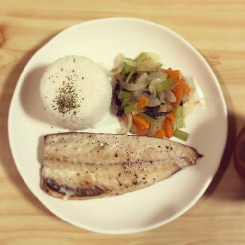 塩サバ【男二人暮らしの食事とか、なんとか、かんとか。】