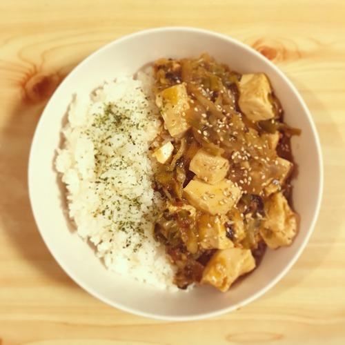 麻婆豆腐【男二人暮らしの食事とか、なんとか、かんとか。】