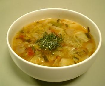 脂肪燃焼野菜スープ