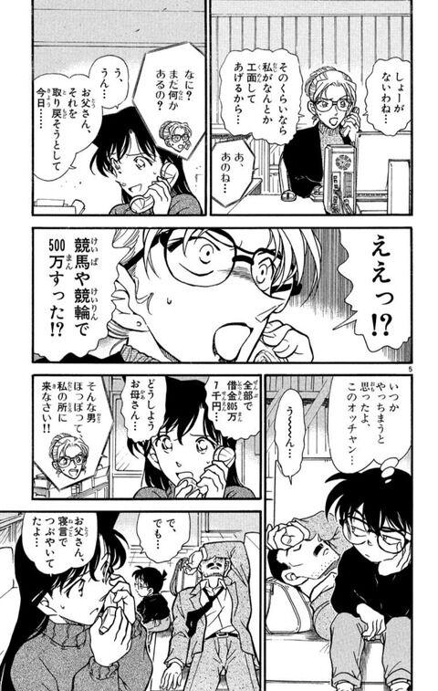 【悲報】毛利小五郎、金銭感覚がおかしい