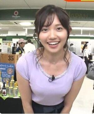【速報】現時点で1番かわいい女子アナがコチラwwww
