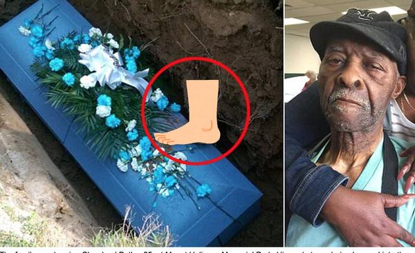【怖すぎ】土葬したら横のご遺体の足が飛び出す!遺族が大激怒!