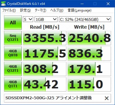CrystalDiskMark_SDSSDXPM2-500G-J25_002
