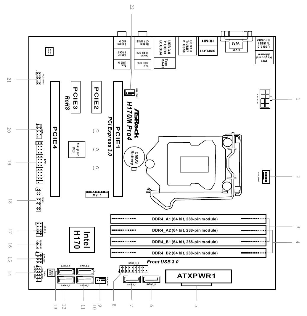 レイアウト図_H170M Pro4
