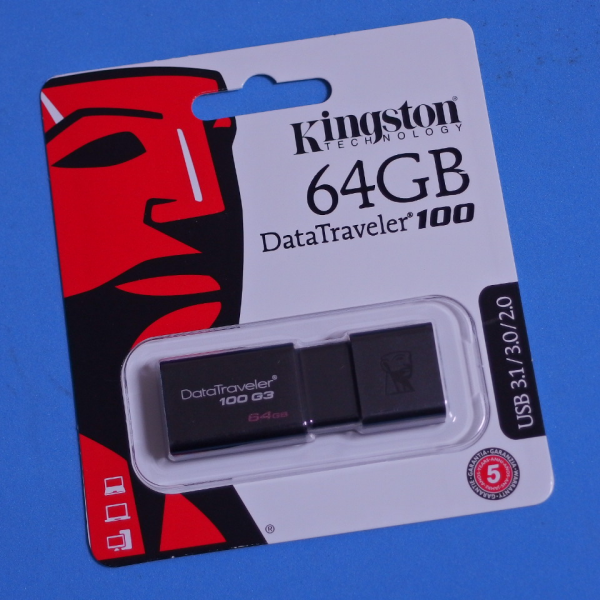Kingston USB3.0 64GB DT100G3
