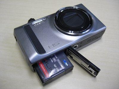 EX-ZR400とNP-130