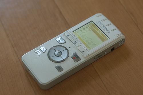 ポータブル型ラジオ録音機 PJ-30 (オリンパス)