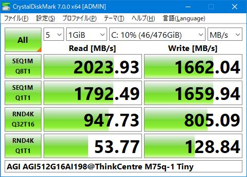速度結果_AGI512G16AI198_2020年2月
