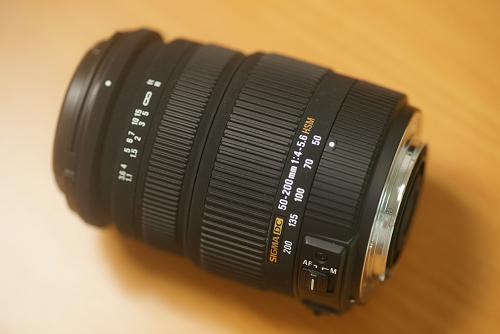 SIGMA 50-200mm F4-5.6
