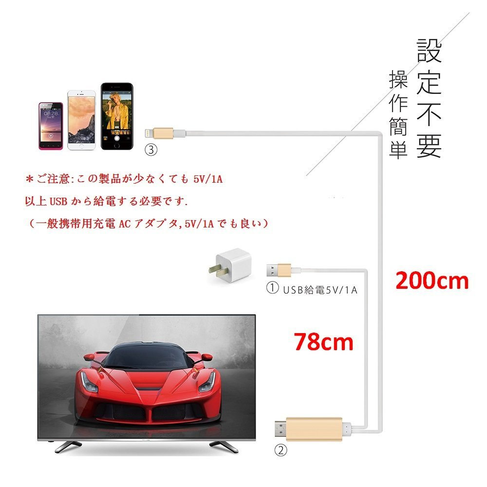 Lightning→HDMI変換ケーブル_006