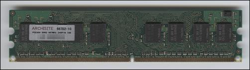 ARCHISITE 1GB PC2-5300