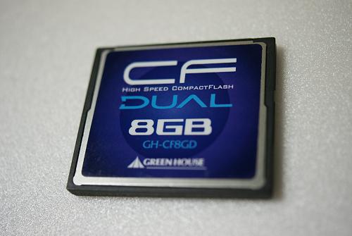 DUALシリーズ 8GB (GH-CF8GD)