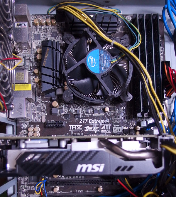 Core i7-2600K + GeForce GTX 1060 AERO ITX 6GB
