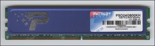 PATRIOT 2GB PC2-6400