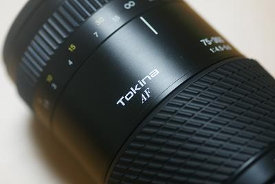 トキナー 75-300mm F4.5-5.6
