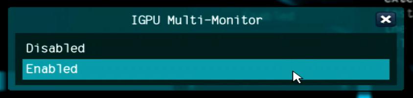 IGPU Multi-Monitor