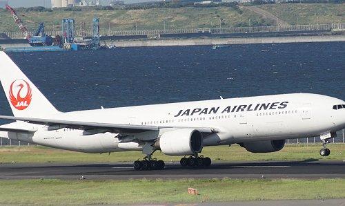2014年8月、羽田空港C滑走路にて
