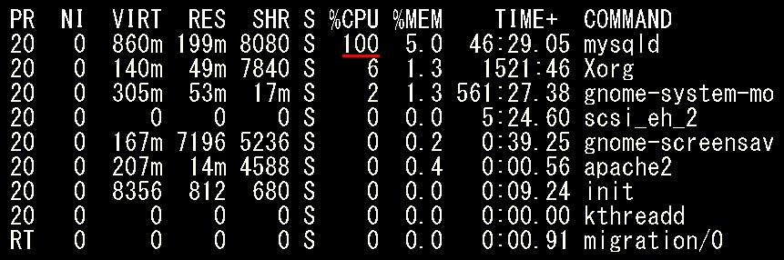 CPU占有率100%