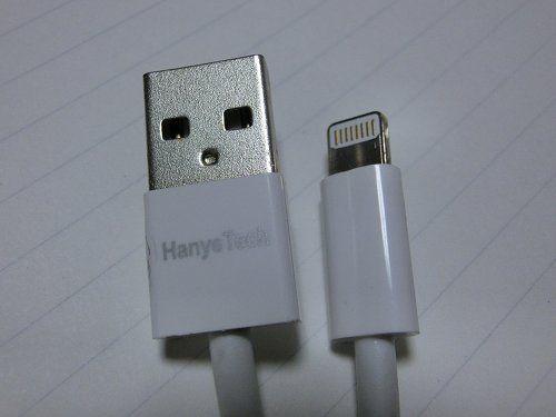 HanyeTechのLightningケーブル