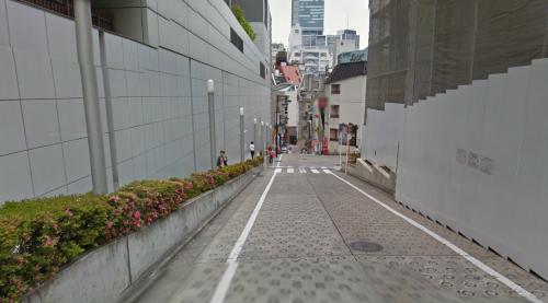 渋谷マークシティ付近