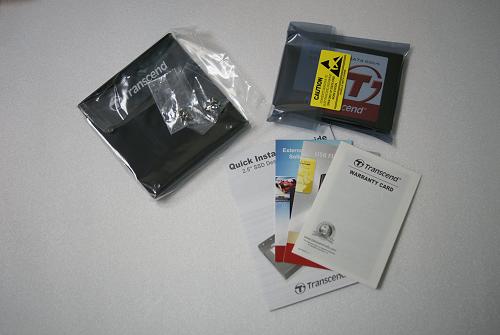 TS256GSSD370の内容物