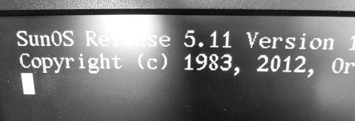 Sun OS Release 5.11 Version 11.1 64-bit