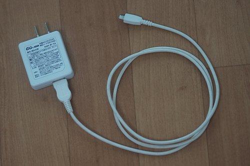 auの共通ACアダプタ03(0301PGA)