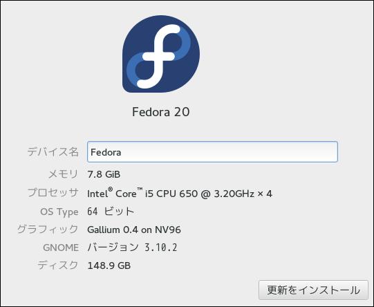 Fedora(20)